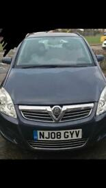 Vauxhall Zafira available on the 23rd jan