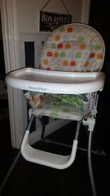 Mamas & Papas apple highchair for sale. Good condition. Pick up only.