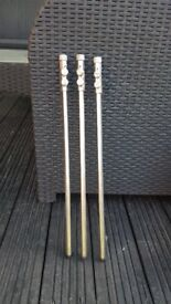Stainless steel bank sticks