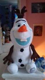 CUDDLY OLAF FROM FROZEN