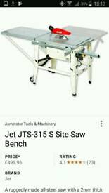 110 volt JET SITE SAW