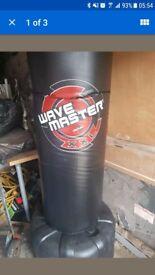Century XXL Wavemaster Free Standing Punch Bag - Black
