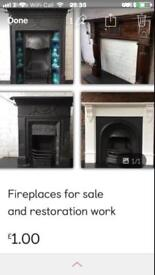 Fireplaces for sale or restore your fireplace