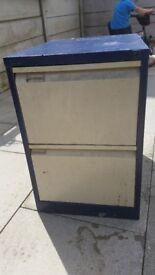 2 draw storage cabinet