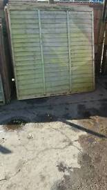 Fencing panels £5 ALL SIZES
