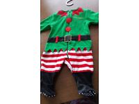 Mothercare Christmas pramsuit
