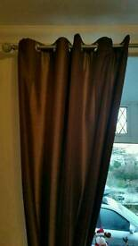 Dunelm thermal lined curtains Inc tie-backs