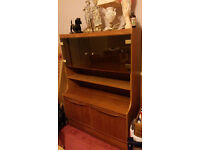 Wooden Cabinet with Display