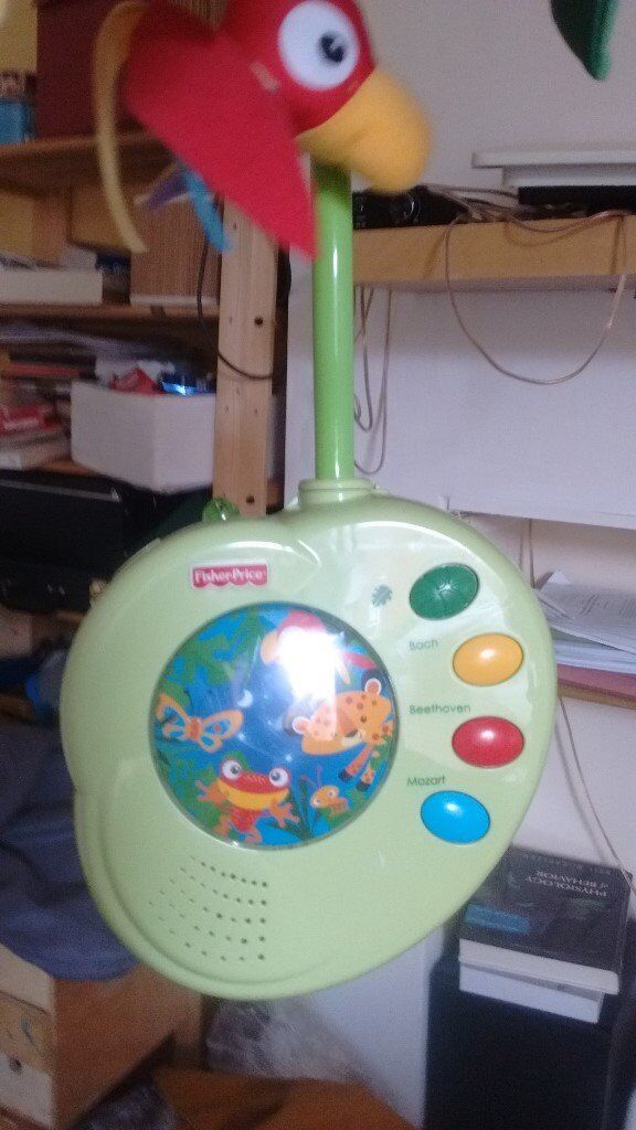 Fisher Price mobile for baby cot