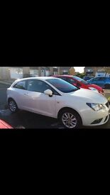 White Seat Ibiza Sports Coupe Excellent Condition Inside & Out, Low mileage, Full Service History