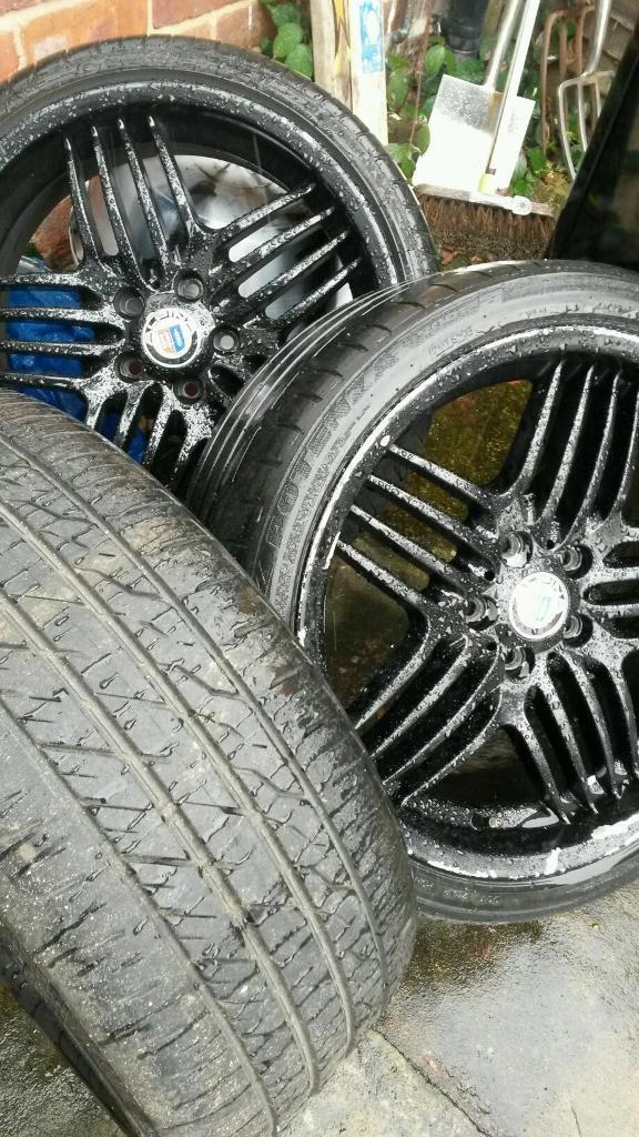 Alpina Alloy Wheels Bmw Genuine Alpina Wheels With Tyres In - Alpina rims bmw