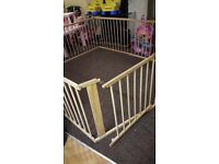 Large Wooden Playpen