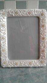 Italian Beaded Picture Frame
