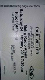 PAUL WELLER TICKETS X1