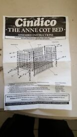 The Anne Cot Bed