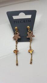Pilgrim earrings brand new