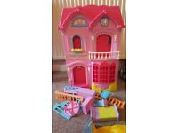 ELC plastic dolls house