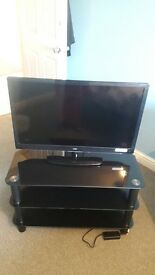 32 Inch TV with stand