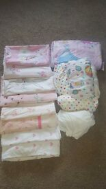 Bed cot bedding & fitted sheets