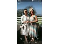 Stunning Mother of the Bride / Guest Size 12/14 Dress, Size 5 shoes and Fascinator