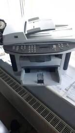HP LaserJet M1522nf black and white Printer