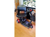 mobility scooter pride go go traveler elite as new used once only