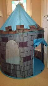 Childs pop up play castle