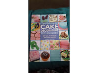 Comendium cake decorating techniques and an extra free book