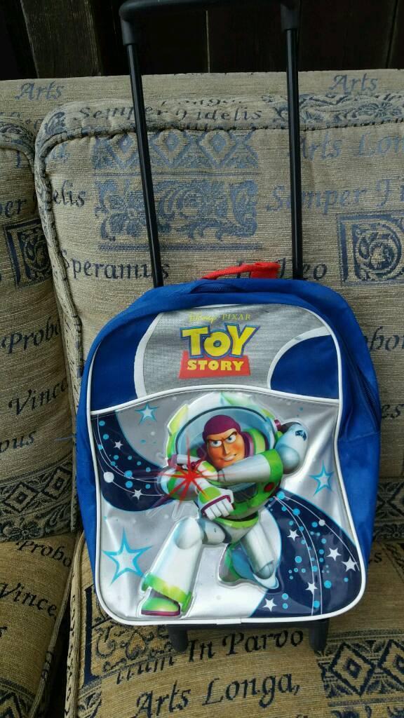 105441165e5 toy story disney pixar buzz lightyear backpack   trolley bag