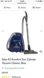 Hoover: SEBO K1 Komfort Vacuum Cleaner with air filter.