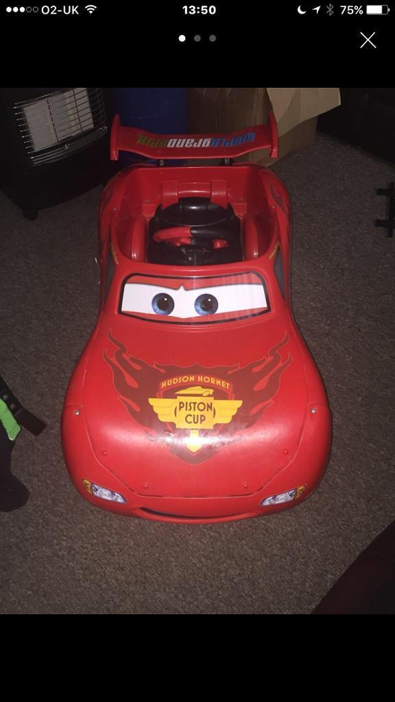 Disney Cars battery operated