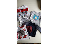 Various baby boy clothes (0-6 Months)
