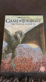 Game of Thrones series 1-6