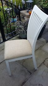 4 dining chairs for sale in very good condition.