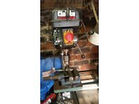 Clarke Pillar Drill in very good condition all bits included