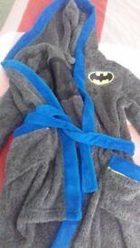 Batman dressing gown age 7-8