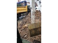 Mini digger and dumper hire operated
