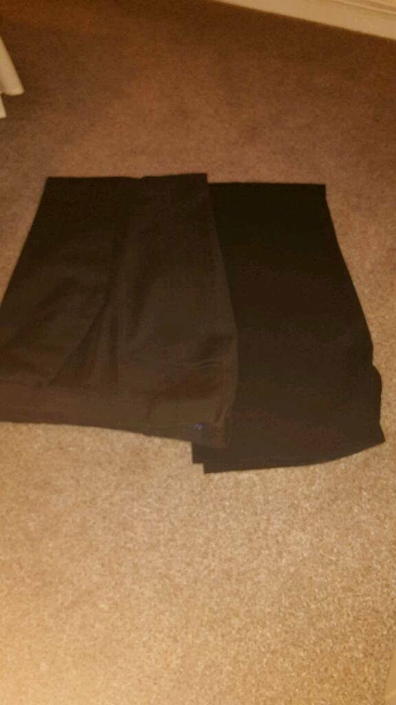 MENS TROUSERS ...J CONRAN AND JEFF BANKS BOTH SIZE 36W X 29L