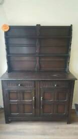 Welsh dresser solid