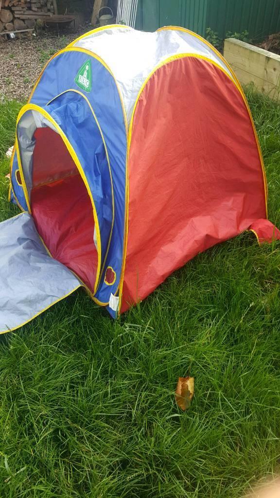 ELC tent play den