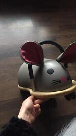 Ride on mouse
