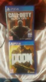 Ps4 games both mint boxed/ £15 each or swaps are welcome