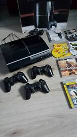PS3 Boxed with Games (Sold Awaiting Collection)