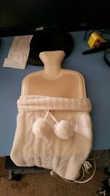 Hot water bottle for the winter