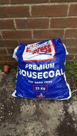 Bag of house coal