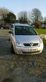 Vauxhall Meriva 1.7cdti.05 reg.Mot Nov 17.