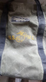 USMC bag of the seventies collector item ORIGINAL