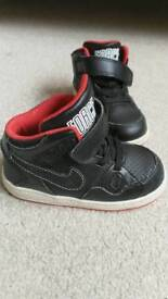 Nike Air Force hi-tops toddler size 6.5