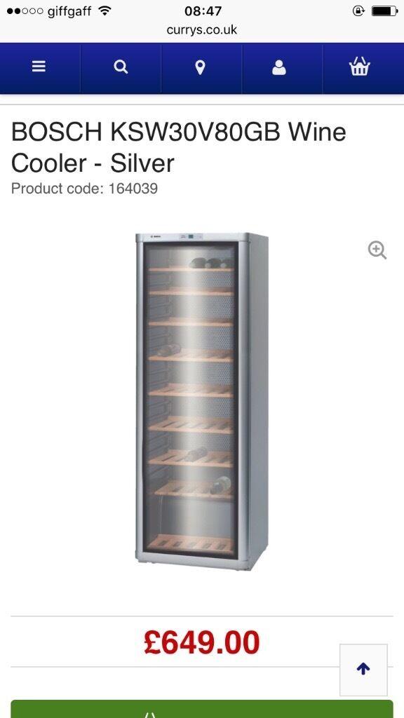 Bosch KSW30V80 360 Litre Wine Cooler in Crawley West  : 86 from www.gumtree.com size 576 x 1024 jpeg 41kB