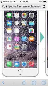 Brocken screen on iphone ?